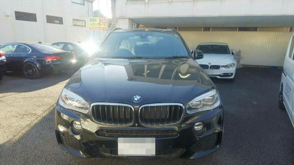 BMW X5 ペット臭・ペット毛取り車内清掃