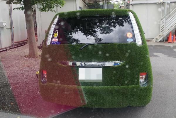 トヨタ アイシス 車内清掃