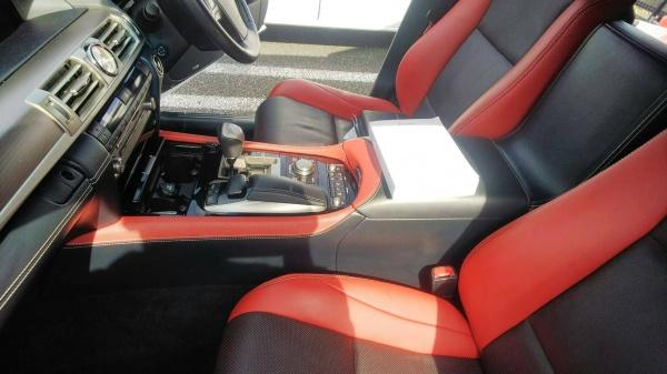 レクサス LS 車内清掃