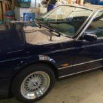 BMW M6 カビ取り車内清掃